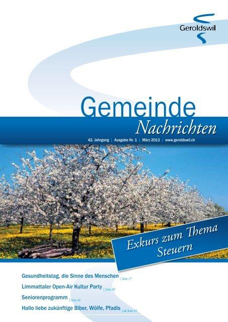Offizielle Informationen aus der Primarschulgemeinde Oetwil