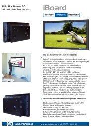 iBoard - Grunwald Display Solutions GmbH