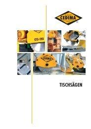 TISCHSÄGEN - CEDIMA GmbH