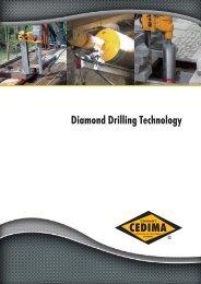 Diamond Drilling Technology - Cedima