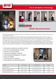 Fire & Ventilation Technology Mobiler Rauchverschluss - Big Tempest