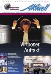 GERSTEL Aktuell Nr. 35 (pdf; 2,29 MB) - Gerstel GmbH & Co.KG