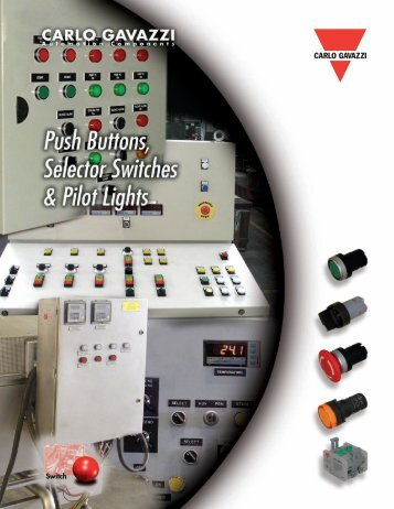 Carlo Gavazzi Pilot Devices Catalog - Gescan Ontario