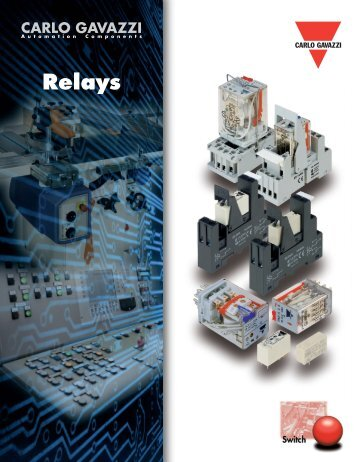 Carlo Gavazzi Relays - CSE Industrial Electrical Distributors