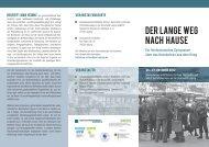 download Flyer Symposium - Geschichtswerkstatt Europa