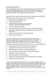 PDF-Download 129 KB - Gestaltung in der Erstausbildung