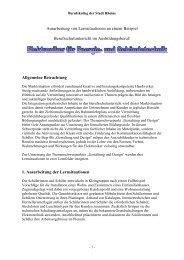 PDF?Download 72 Kb - Gestaltung in der Erstausbildung