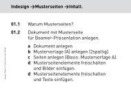 01.2b Musterseite anlegen - Gestaltungs- und Medientechnik