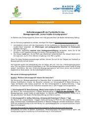 Briefvorlage mit DGE Daten - gesunde Boot