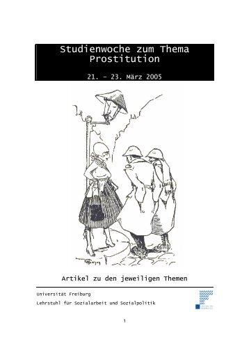 Studienwoche zum Thema Prostitution - gesunde-maenner.ch