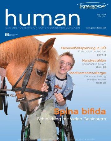 HUMAN Ausgabe 01/2007 - gesund-in-ooe.at