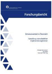 Schulsozialarbeit in Österreich - Gesunde Schule