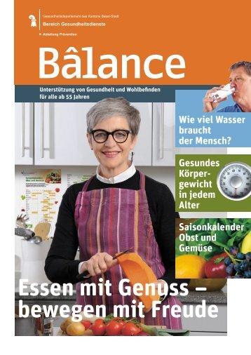Bâlance - Gesundheit.bs.ch - Basel-Stadt