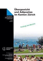 Übergewicht und Adipositas im Kanton Zürich - Institut für Sozial ...