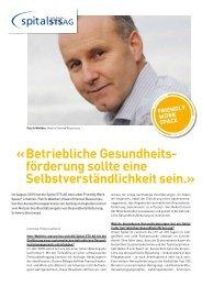 Betriebliche Gesundheits - Gesundheitsförderung Schweiz
