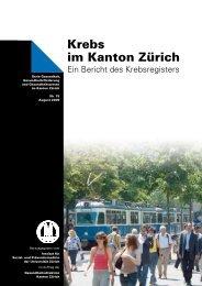 Krebs im Kanton Zürich - Institut für Sozial- und Präventivmedizin ...