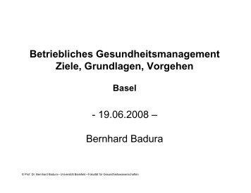 Präsentation Bernhard Badura (pdf)
