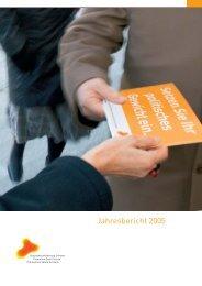 Jahresbericht 2005 (PDF, 2.4 MB) - Gesundheitsförderung Schweiz
