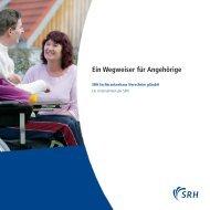 Ein Wegweiser für Angehörige - Gesundheitsnetz Ostalbkreis