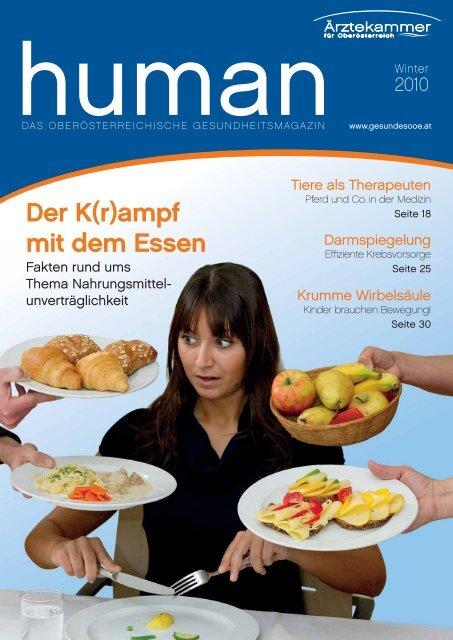 HUMAN Ausgabe 04/2010 - gesund-in-ooe.at