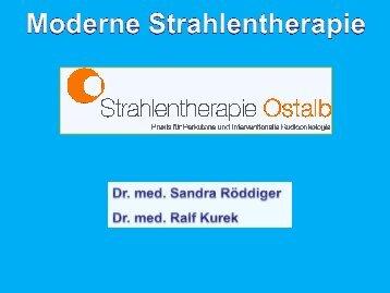 Moderne Strahlentherapie -Teil 1von 4 - Gesundheitsnetz Ostalbkreis