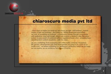 chiaroscuro media pvt ltd - GetACoder