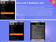 Starcraft 2 Builds(no ads) - Get Mobile game