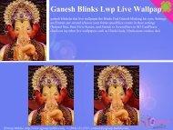 Ganesh Blinks Lwp Live Wallpap - Get Mobile game