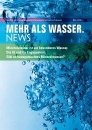 als wasser. - Verband Schweizerischer Mineralquellen und Soft ...