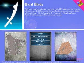 Hard Blade - Get Mobile game