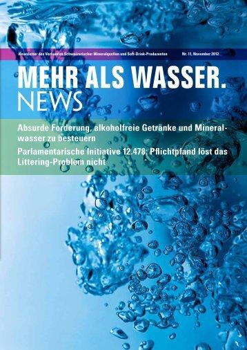 Absurde Forderung, alkoholfreie Getränke und Mineral - Verband ...