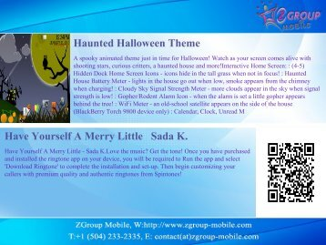 Haunted Halloween Theme Have Yourself A Merry Little Sada K.