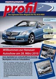 Willkommen zur Hanauer Autoshow am 28. März 2010 - Profil