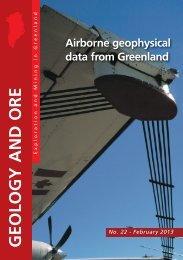 Airborne geophysical data from Greenland - GEUS