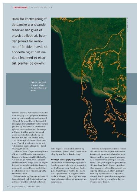 Da Nildeltaet lå på tværs af Jylland - Geus