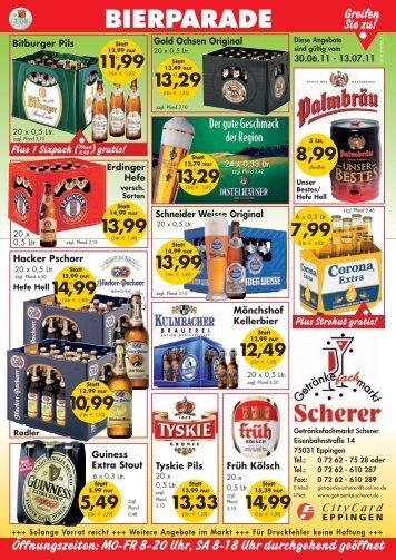 6,99 - Getränkefachmarkt Scherer