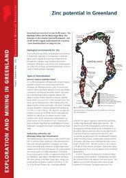 Exploration and Mining in Greenland, Factsheet 25, 2011 - Geus