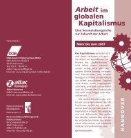 Kapitalismus Arbeit im - GEW Hannover