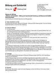 Satzung - GEW Kreisverband Oldenburg-Stadt