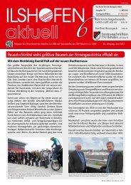 Ausgabe 6/2013 - Gewerbeverein-ilshofen.de