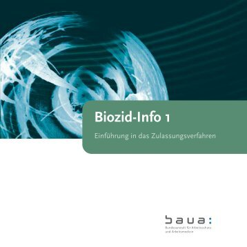 """Broschüre """"Einführung in das Zulassungsverfahren"""" - Bundesanstalt ..."""