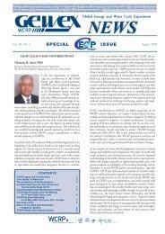 August 2008 Vol. 18, No. 3 - GEWEX