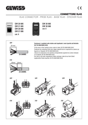 connettore magazines rs232 wiring diagram connettore rj45 gewiss