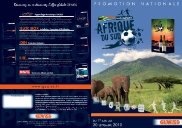 depliant promo nationale 2010.indd - Gewiss
