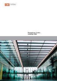 Fissaggi per il vetro Catalogo 2009
