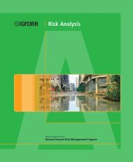 Risk Analysis Course Manual - GFDRR