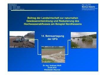 Vortrag 7_Landwirtschaft und Hochwasser_Weiss | PDF 2,6 MB