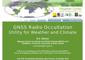 GNSS Radio Occultation - Gfg2