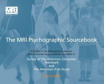 Survey of the American Consumer: Part 2 - GfK MRI
