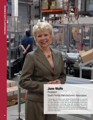 June Wolfe - Broward Alliance